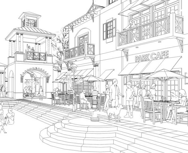 Line Art Render : Jim leggitt tradigital drawing sketchup d rendering