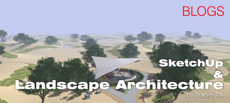 SketchUp and Landscape Architecture SketchUp 3D Rendering