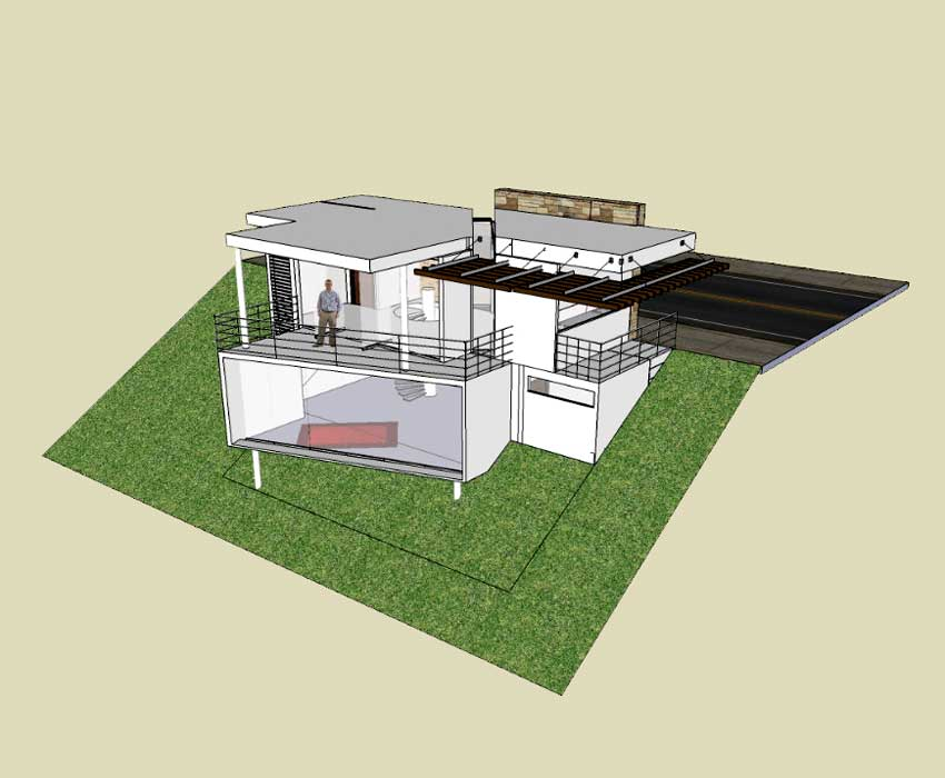 Photo sketchup house plans tutorial images small office for 3d house model maker