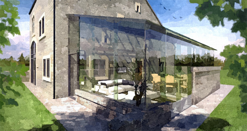 Fotosketcher hand drawn look to your sketchup image for Home rendering software