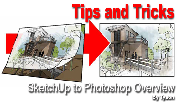 tips  u0026 tricks    sketchup 3d rendering tutorials by sketchupartists