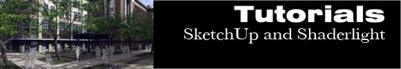SketchUp-and-Shaderlight
