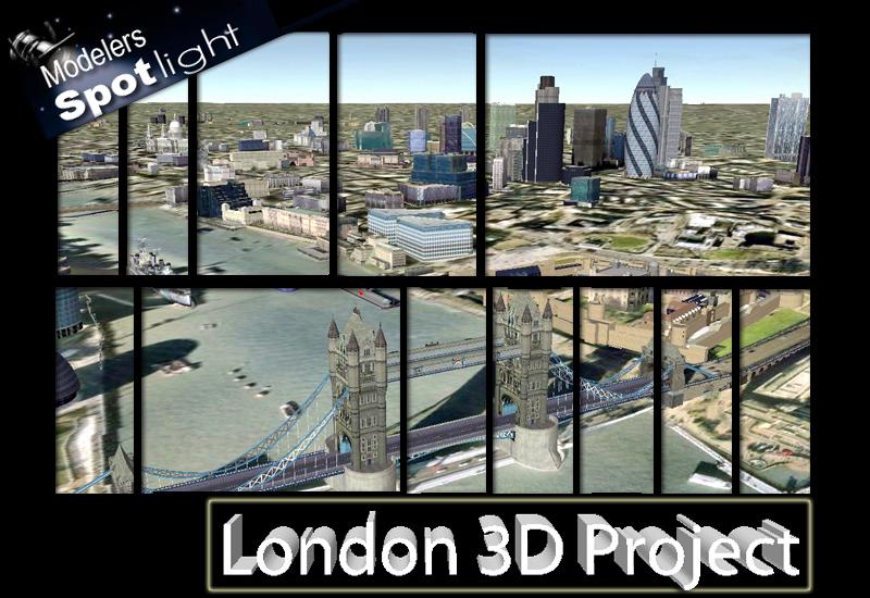 London 3d project