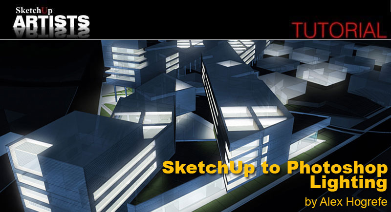 SketchUp and Photoshop :: SketchUp 3D Rendering Tutorials by