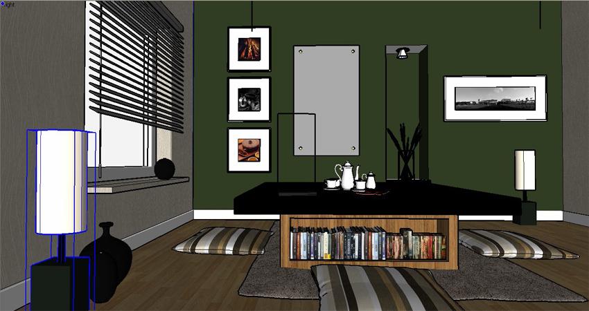 Free Sketchup Interior Models