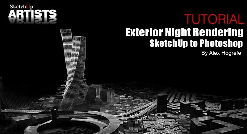 Tutorials :: SketchUp 3D Rendering Tutorials by SketchUpArtists