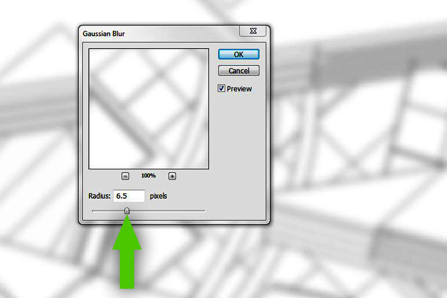 how to change radius in sketchup
