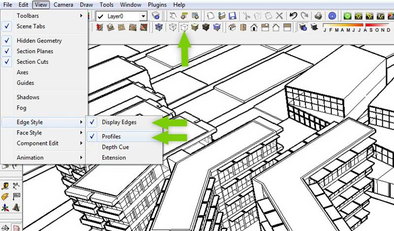 3d blueprint tutorial sketchup kerkythea and photoshop base image malvernweather Images