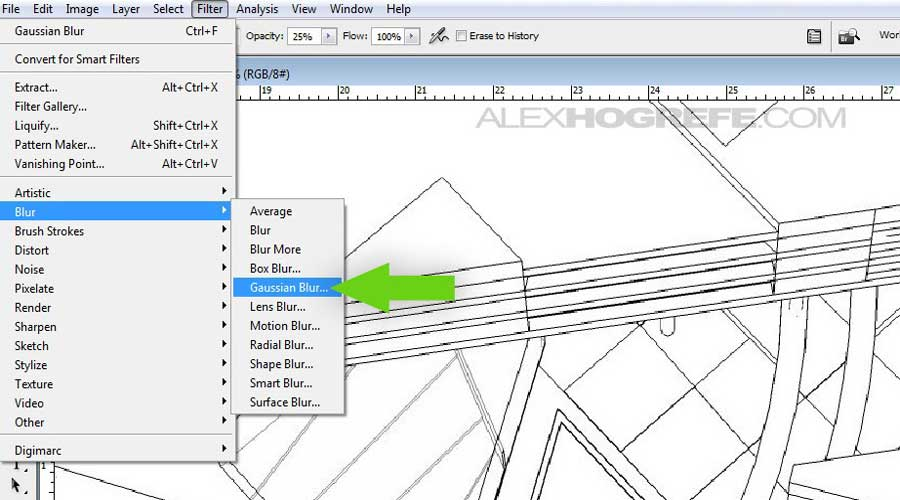 SketchUp to Photoshop – no render engine required :: SketchUp 3D