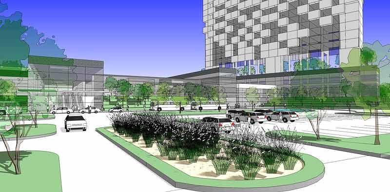 Drawing landscapes from sketchup models sketchup 3d for Garden design in 3d using sketchup