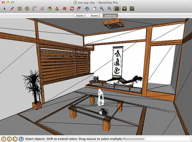Interior lighting with lightup for sketchup sketchup 3d Interior design rendering software free
