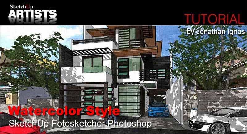 Tutorials :: SketchUp 3D Rendering Tutorials by SketchUpArtists