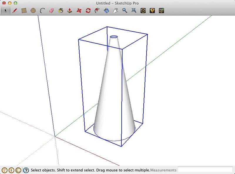 Volume Light Effects – LightUp for SketchUp :: SketchUp 3D