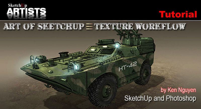 Tutorials SketchUp 3D Rendering Tutorials by SketchUpArtists