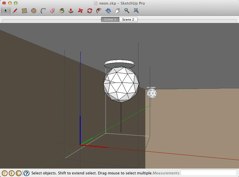 Neon Lights with LightUp for SketchUp :: SketchUp 3D