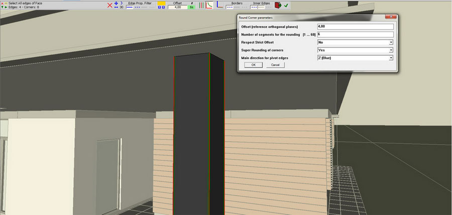 Maxwell for SketchUp – architectural visualization part 1