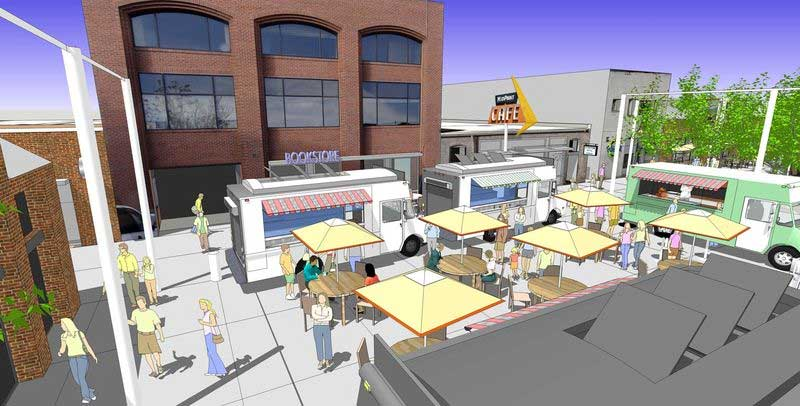 Place Making with a SketchUp Model :: SketchUp 3D Rendering