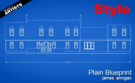 plain-blueprint-style