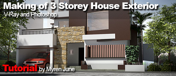 Special Making Of 3 Storey House