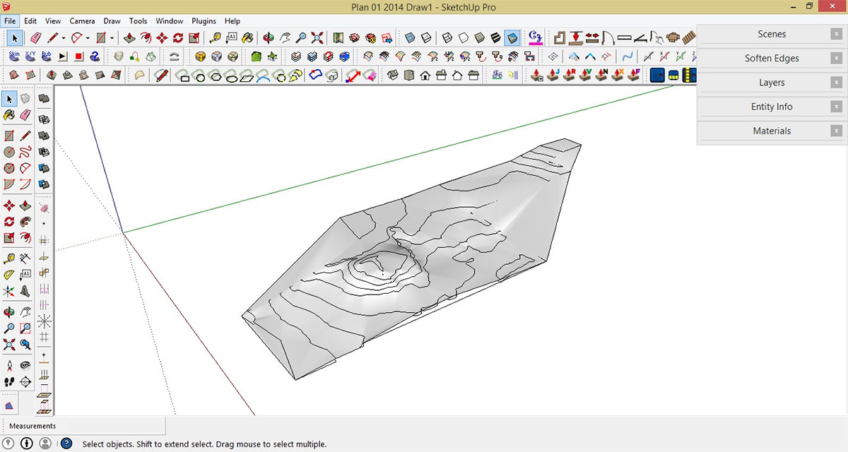 How To Make A Topographic Profile Sketchup And Layout Sketchup