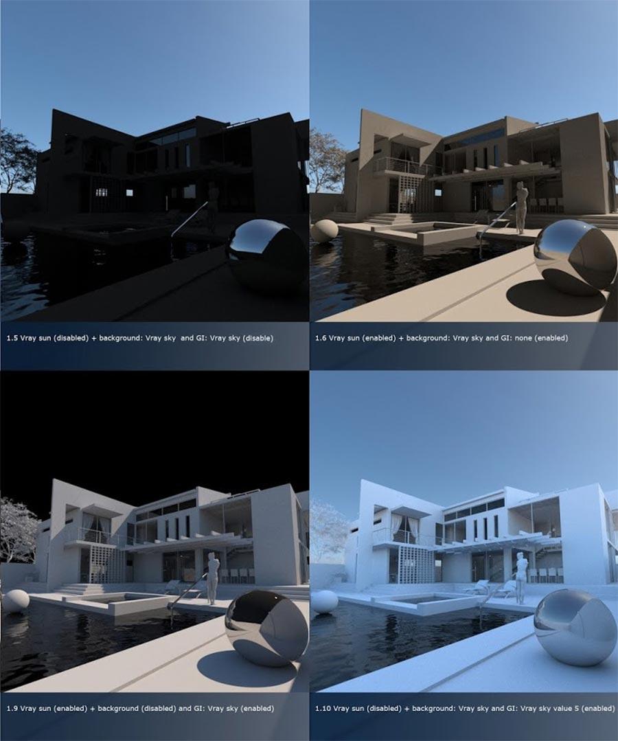 Exterior Render Settings (V-Ray 3 4 for SketchUp