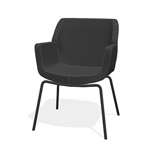 Bindu Guest Chair Low back